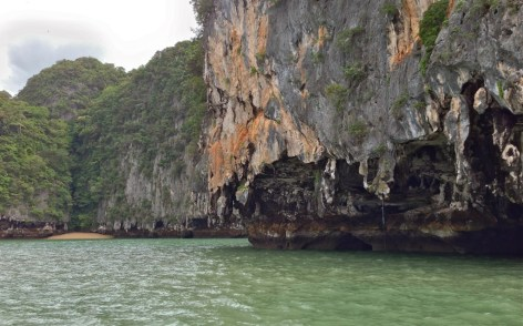 limestone eroding