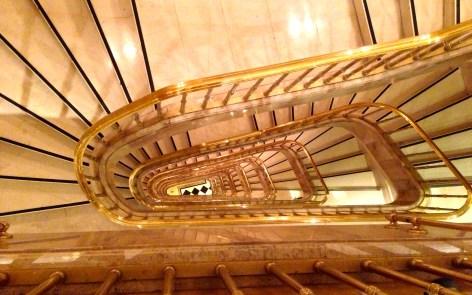 Hotel Grande Bretagne staircase