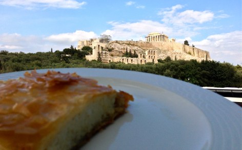 pita - with parthenon
