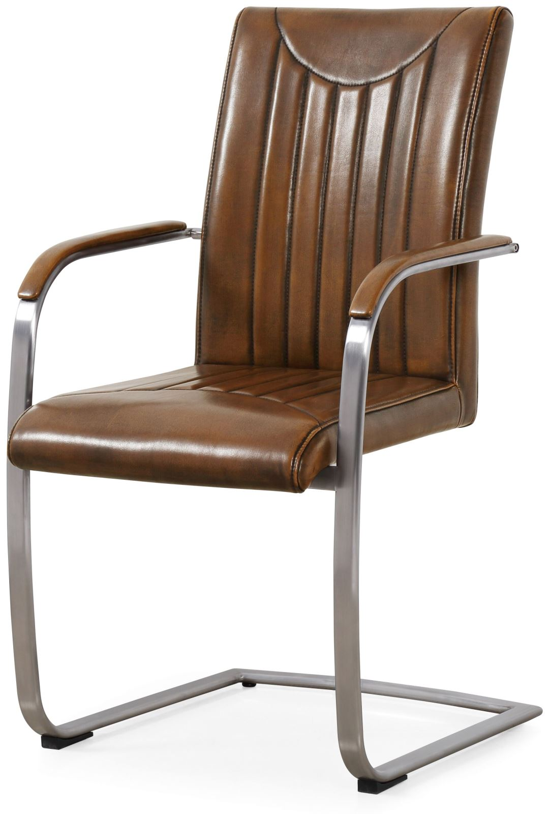 industrial dining chair leather sale classic furniture retro curve