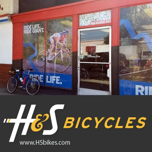 hs bikes website design and production, w hosting