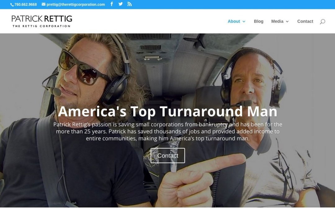 The Rettig Corporation new website published
