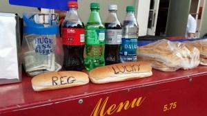 large hotdog