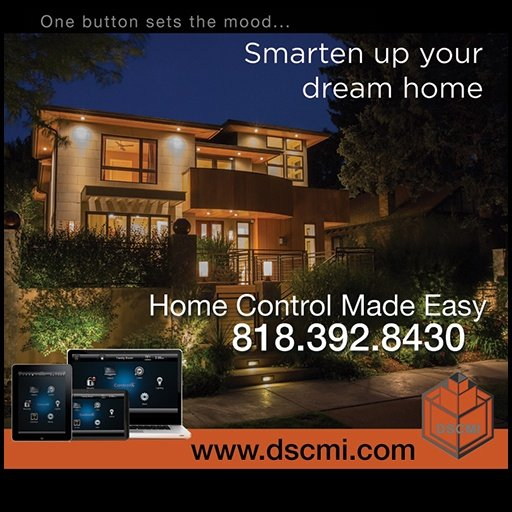 Home Automation web site design