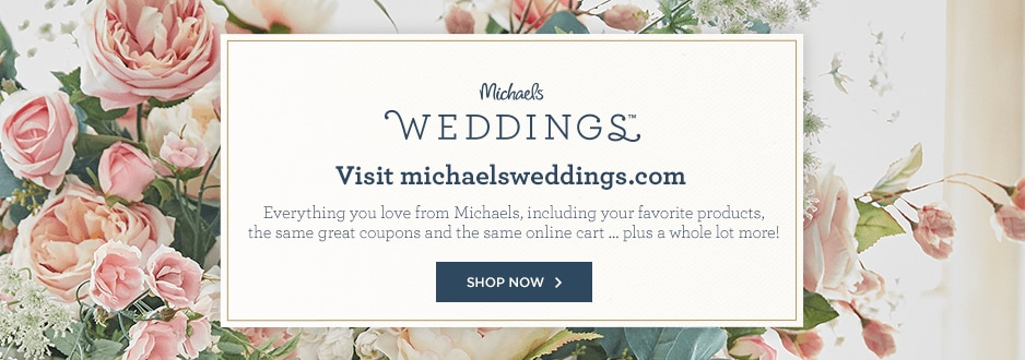 chair covers michaels leather recliner wedding supplies introducing weddings your diy headquarters more of what you already love from