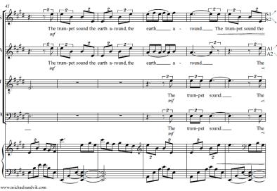 the trumpet sound new pre