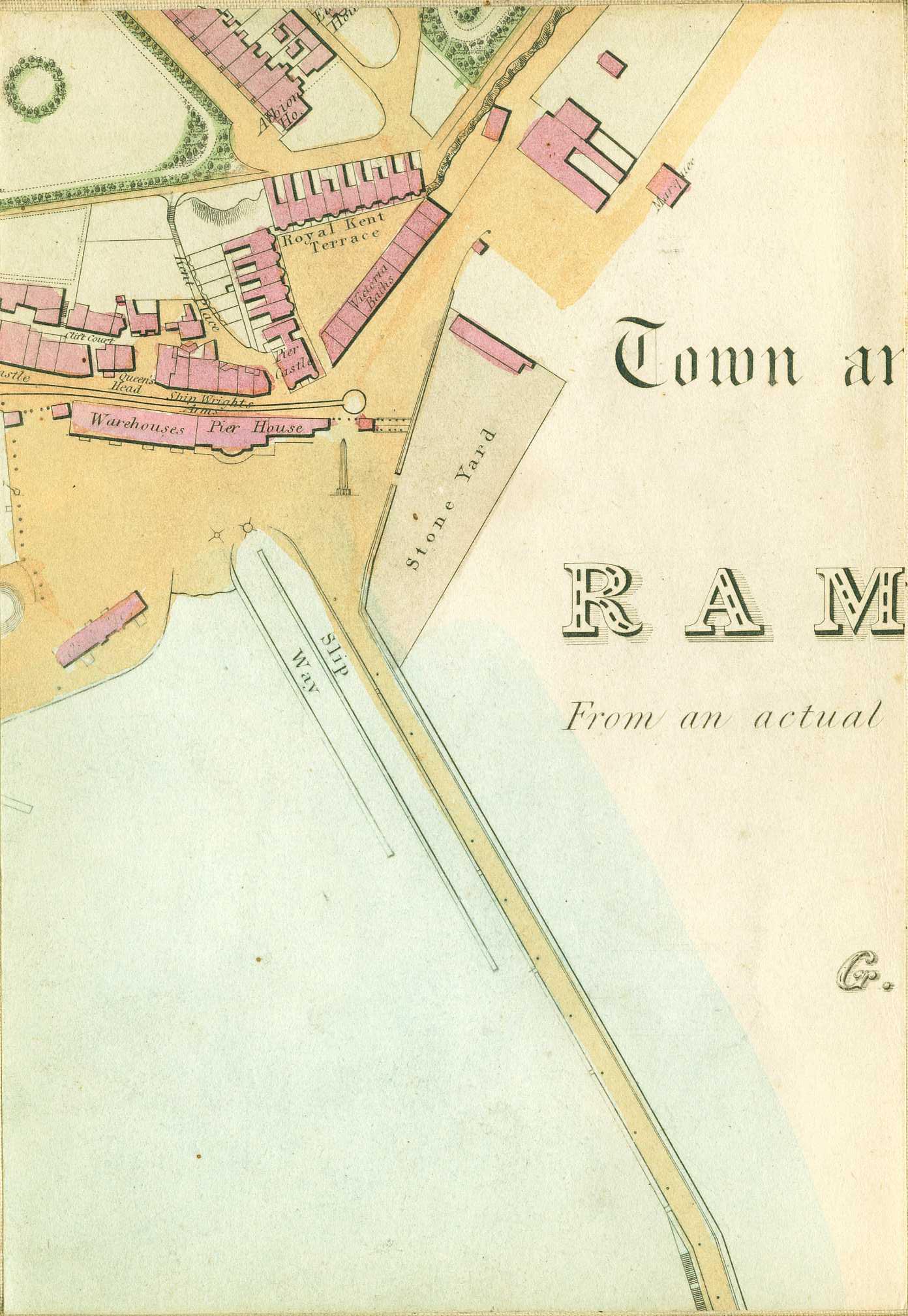 best kitchen paint swanstone single bowl sink 1849 map of ramsgate