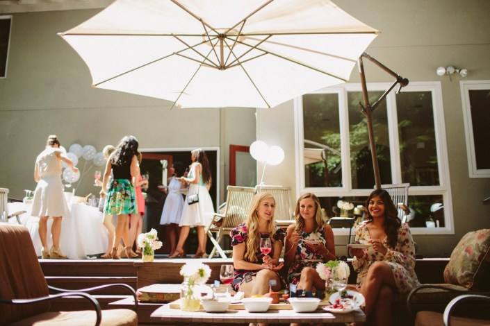Janene's Backyard Bridal Shower