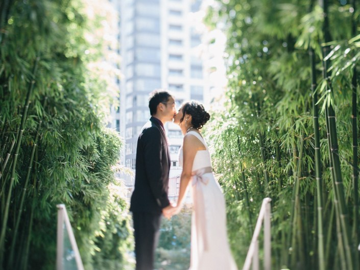 shangri la vancouver wedding photo