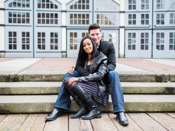 jeff and hiwot's engagement session in vancouver
