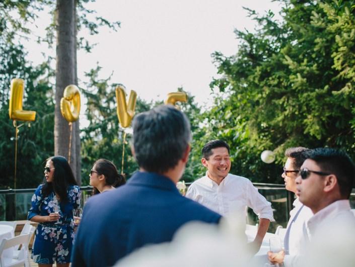 kim's backyard wedding reception 6