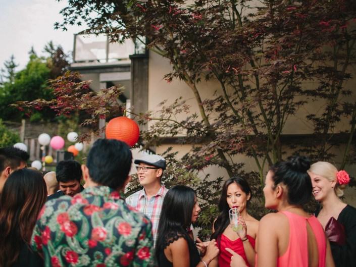 kim's backyard wedding reception vancouver
