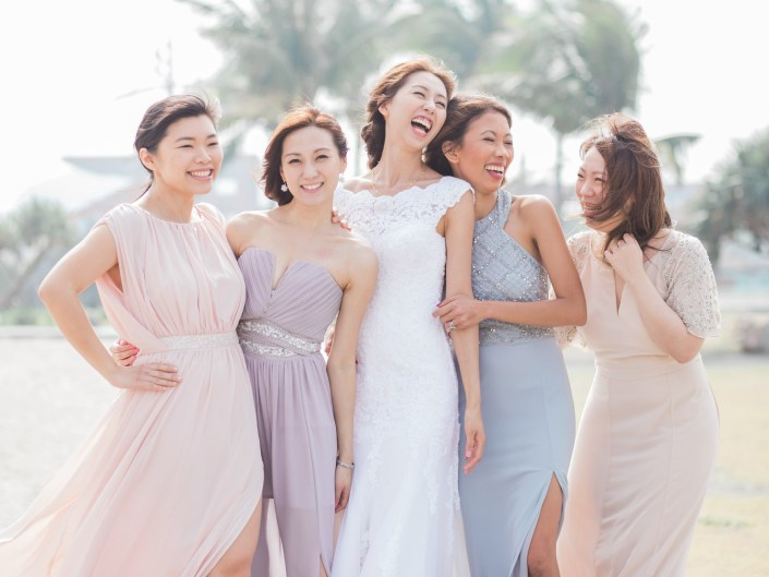 livia and her bridesmaids