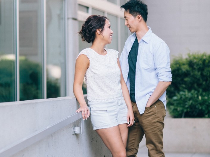 fashion engagement photos vancouver