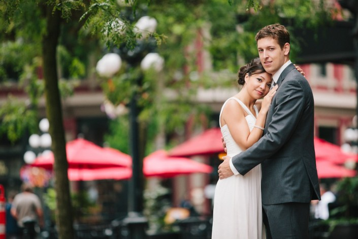 Stephanie & Myles Wedding in Gastown