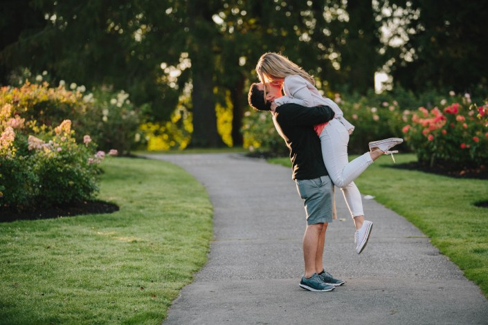 John & Jacqueline's Engagement in Stanley Park