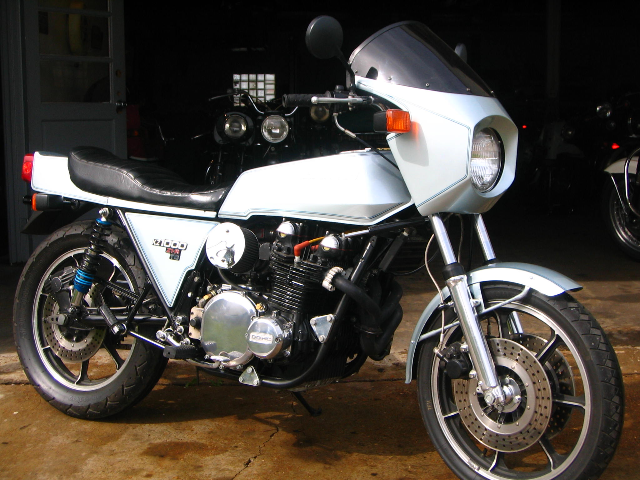 1978 Kawasaki Z1r Turbo