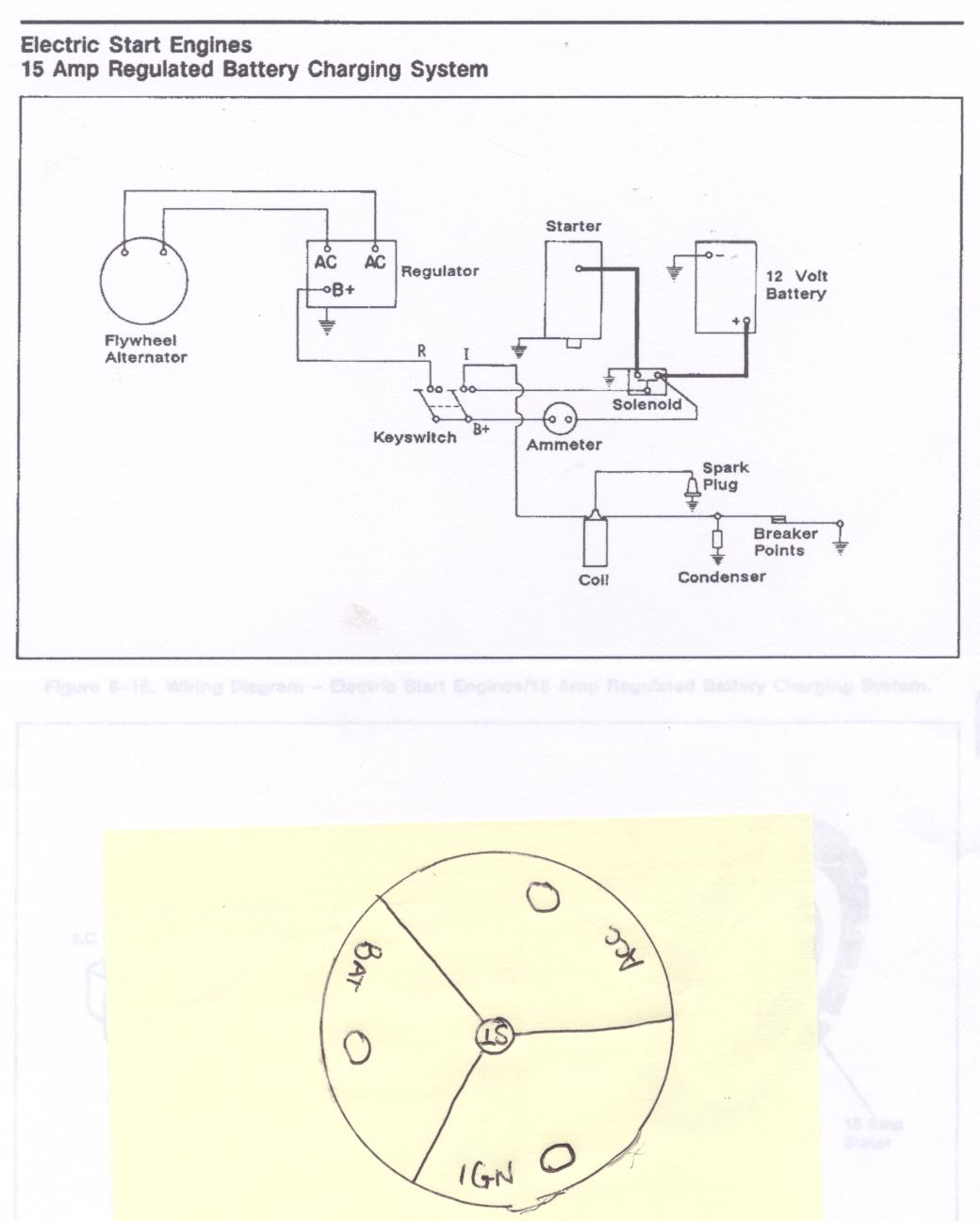 lucas ford tractor ignition switch wiring diagram 120v 8n