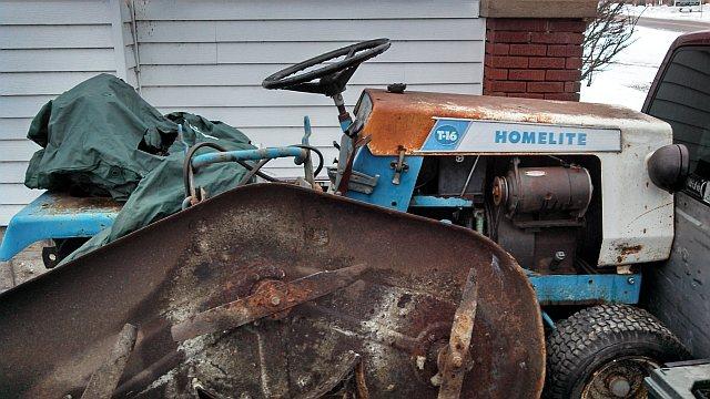 Michaels Tractors Simplicity and Allis Chalmers Garden