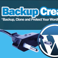Backup Wordpress using Backup Creator