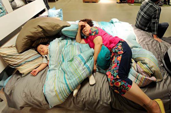comfortable sofas uk couch beijing ikea bans sleeping on furniture displays ...