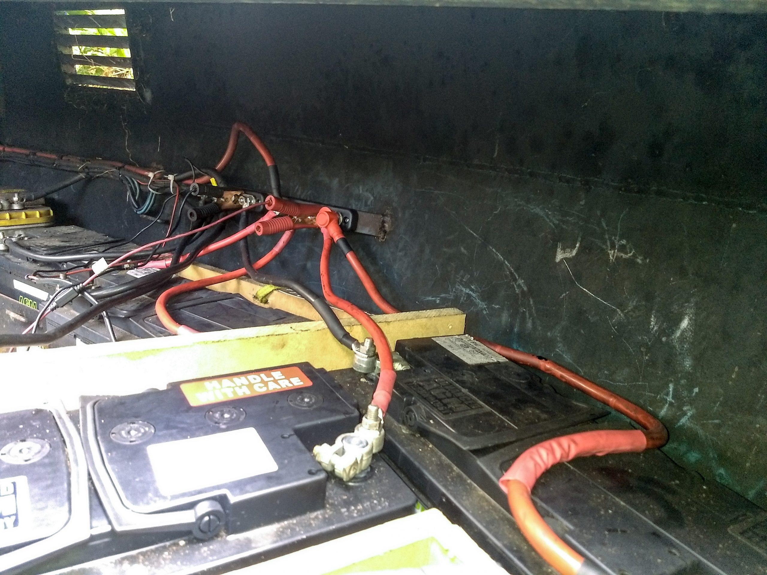 Wiring Leisure Batteries In Series