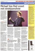 """Interview n.a.v. """"Van Peel overleeft 2011"""" (Het Nieuwsblad, 3 jan 2012)"""
