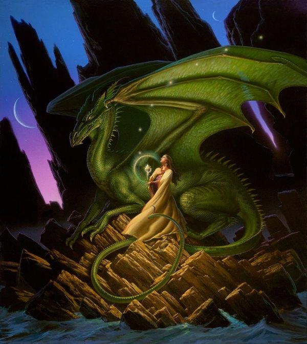 Michael Whelan Dragons