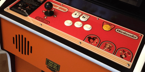 Donkey Kong Arcade Machine: Control Panel