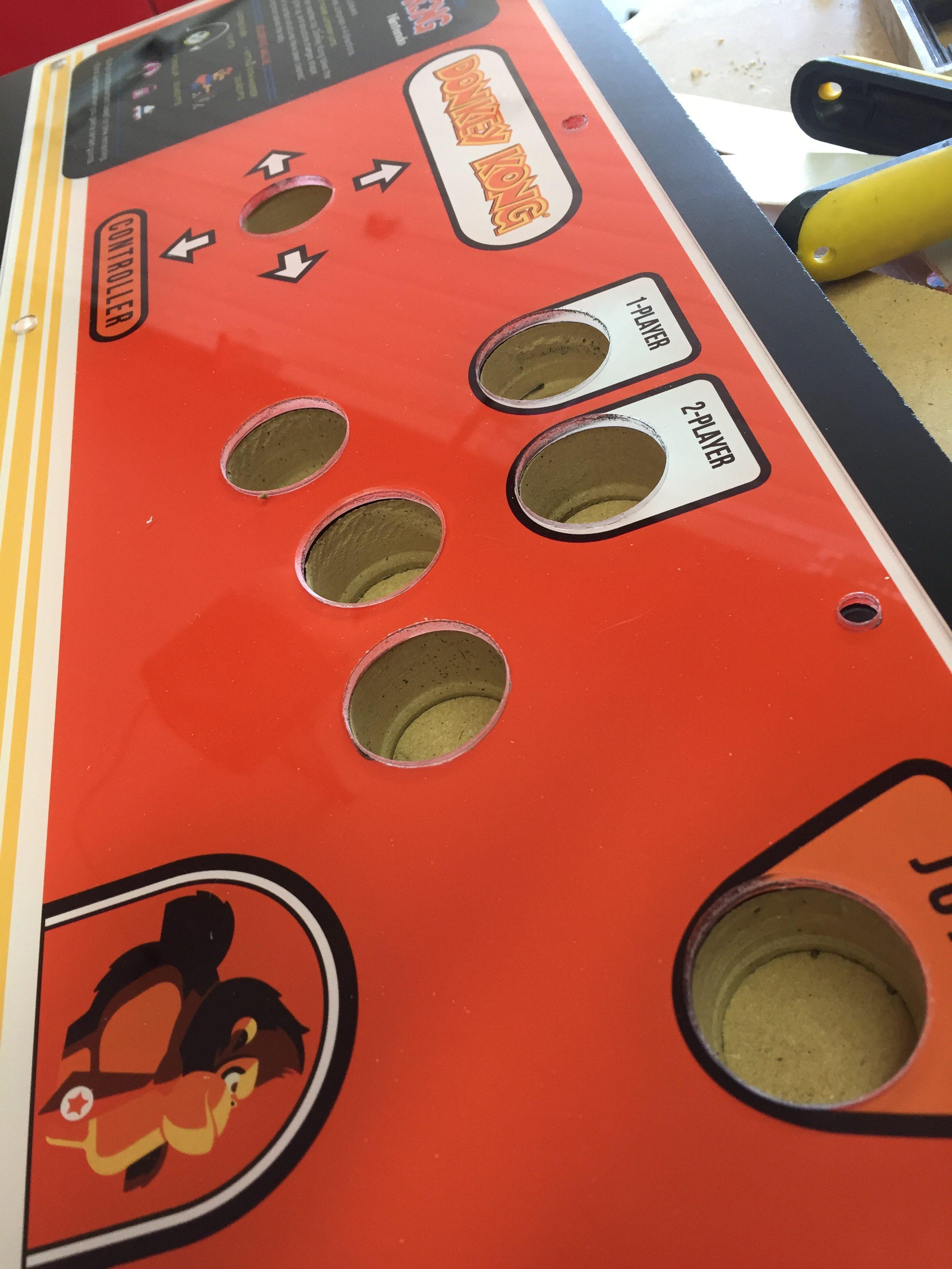 Donkey Kong Arcade Machine: Perfectly Aligned