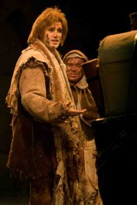 Michael as Dennis in Spamalot! with Adam Stafford