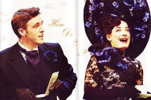Michael as Freddy in My Fair Lady with Laura Michelle Kelly (Michael Le Poer Trench)