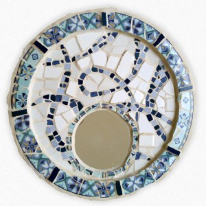 Decorative mirror mosaic work by michalozeri