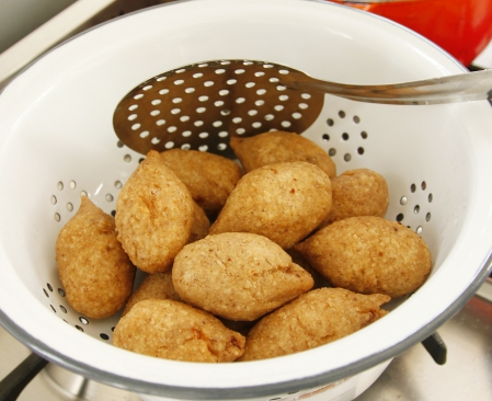 יציאת דמשק / קובה אורז במילוי בשר לפסח