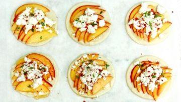 נעים להכיר, ג'יבנה/ ג'יבנה ועגבניות צלויות/ מאפים מהירים עם ג'יבנה ונקטרינה/ מנקושי ג'יבנה עם זעתר טרי ועגבניות