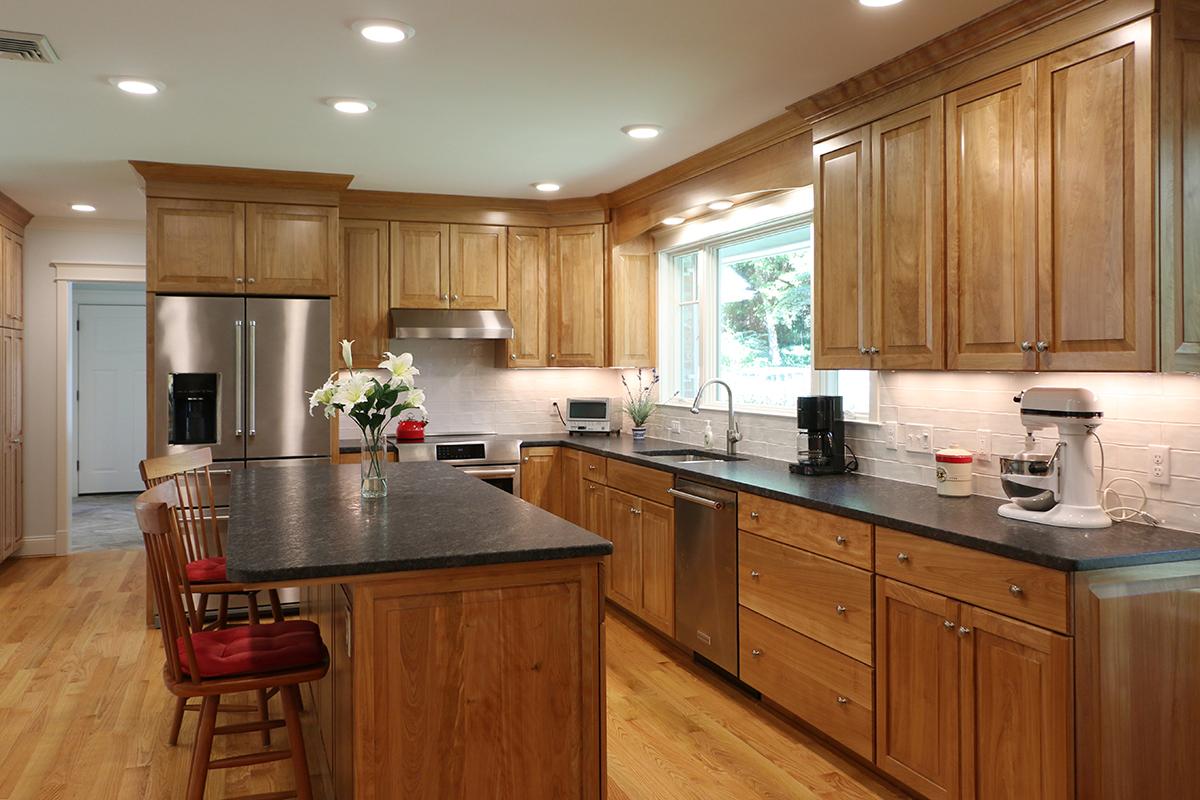 Kitchen Remodel, Half Bath, Sunroom Addition And Laundry