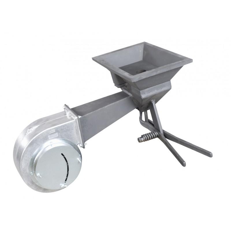 kit foyer p ventilateur p0 foyer en fonte regulation du flux d air evacuation du machefer