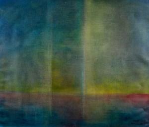 Ölbild von Raphael Walenta aus dem Jahr 2009 Ohne Titel © by Raphael Walenta