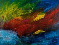 Öl auf Leinwand 2015 © by Raphael Walenta