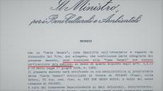1994 – Il Decreto di Vincolo Pertinenziale
