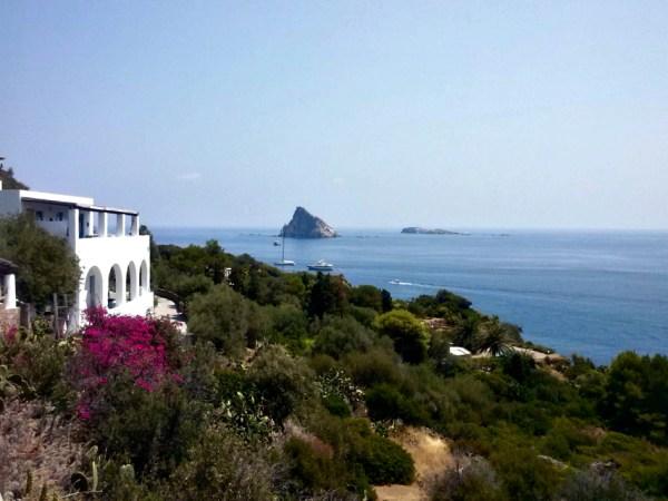Vista panoramica da Panarea - Foto di Michela Arnò