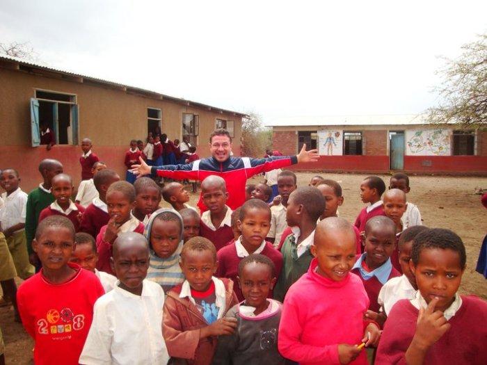 Scuola in un villaggio al Lago Eyasi: Tanzania (nov. 2010)