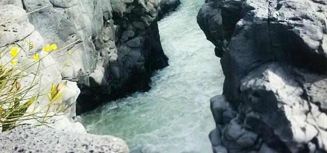 Ponte dei Saraceni e Forre laviche del Simeto