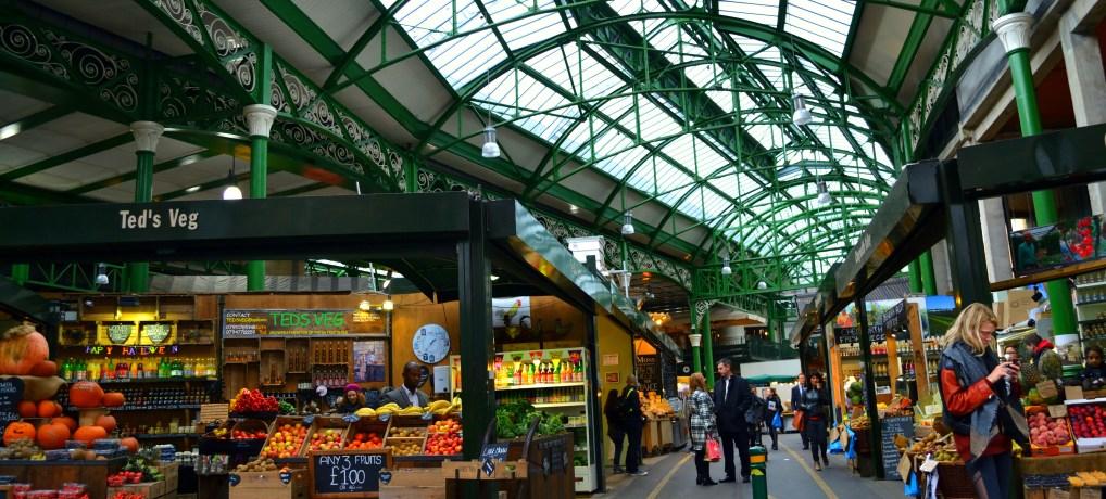 Borough Market, lo street food a Londra