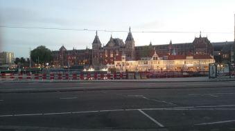 Amsterdam Centaal de manhã