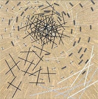 Tourbillon - Micro-collages 50x50 cm - 900€