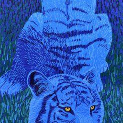 Le Tigre bleu