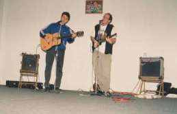 Concert avec Dogbowl à New York / PS1 pour l'expostion Winter of love (NOV 1994)