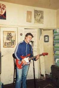 Concert / open mike / New York / Marz Bar / Nov 94