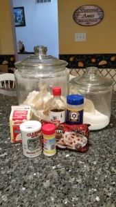 Scone Ingredients 2